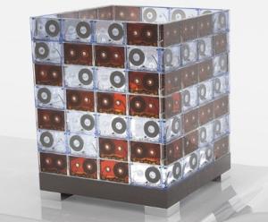 lumináriacom fita cassete transparenthousedotcom